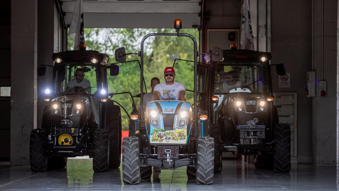 Creativart - Shooting foto e video Carraro Tractors